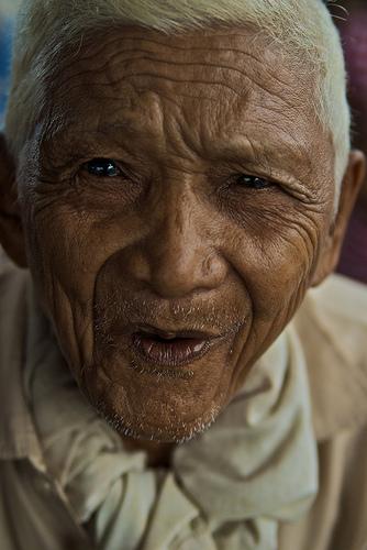 Un vieil homme heureux