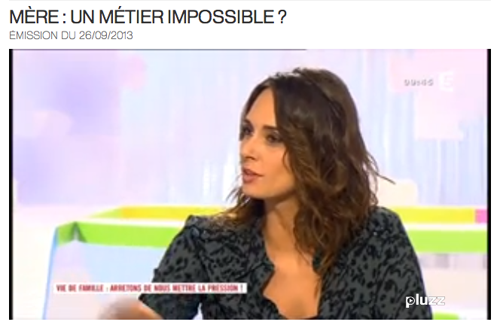 Mère - un métier impossible - Les maternelles - France 5
