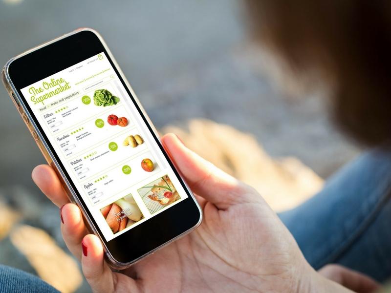 Faites les courses en ligne pour gagner du temps et de l'énergie
