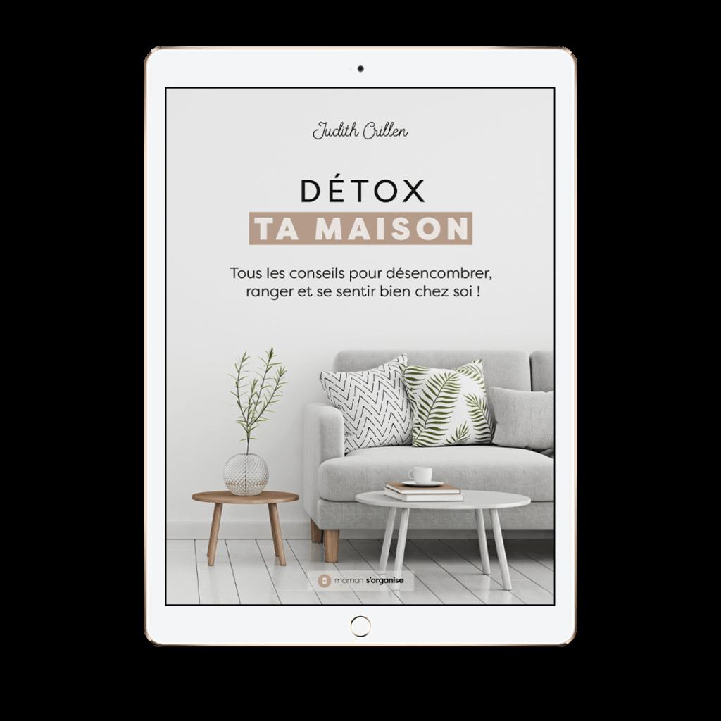 Téléchargez nu extrait gratuit de Détox ta Maison
