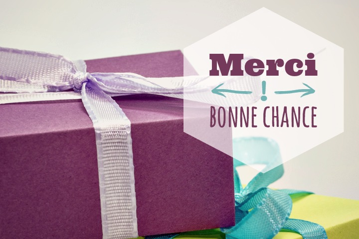 Gagnez un cadeau pour les 4 ans du blog