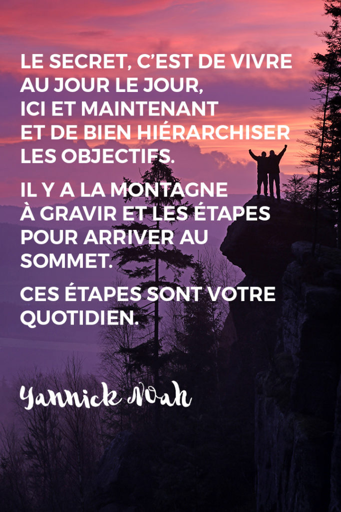Citation de Yannick Noah