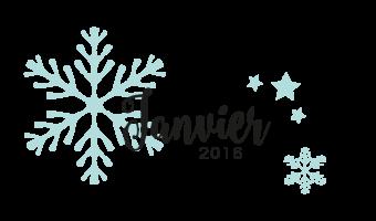 Le calendrier de janvier 2016