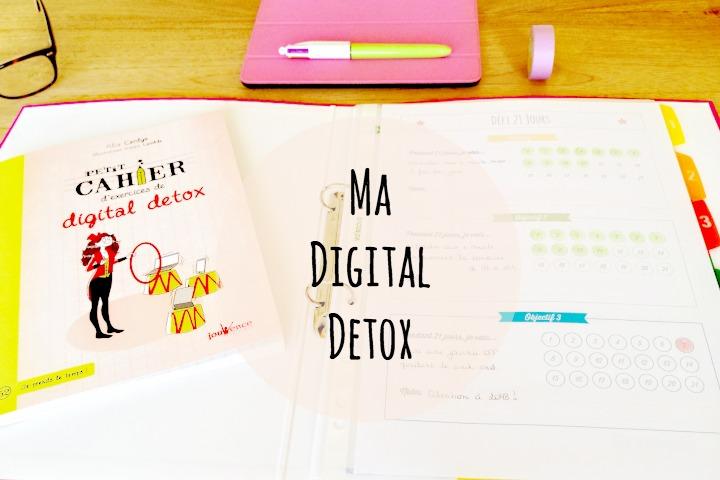 Digital detox organisée
