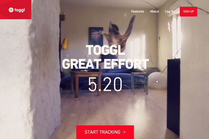 toggl, appli de time tracking